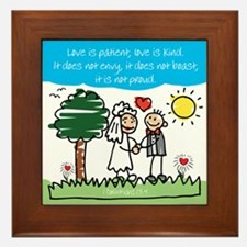 Wedding Framed Tile