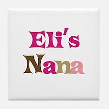 Eli's Nana Tile Coaster