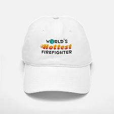World's Hottest Firef.. (C) Baseball Baseball Cap