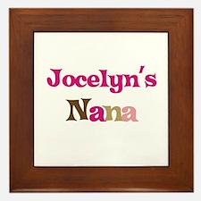 Jocelyn's Nana Framed Tile