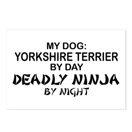 Yorkshire Deadly Ninja Postcards (Package of 8)