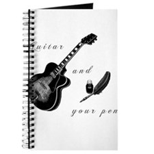 Guitar and Pen Journal