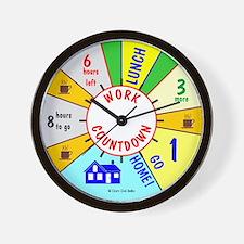 Work Countdown Wall Clock