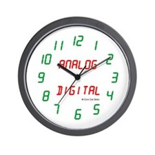 Analog_Digital Wall Clock