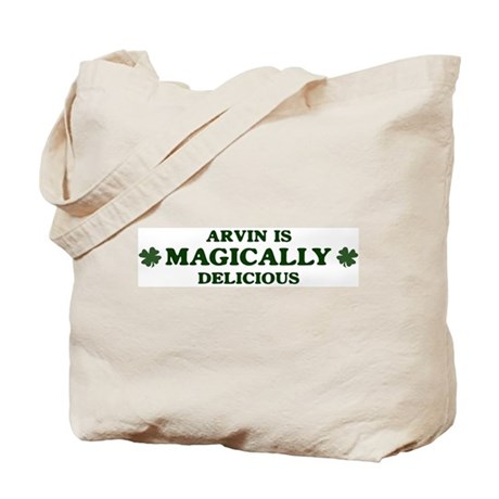 Arvin is delicious Tote Bag