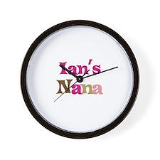 Ian's Nana Wall Clock