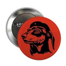 Dachshund Icon -Fundamentalist Button