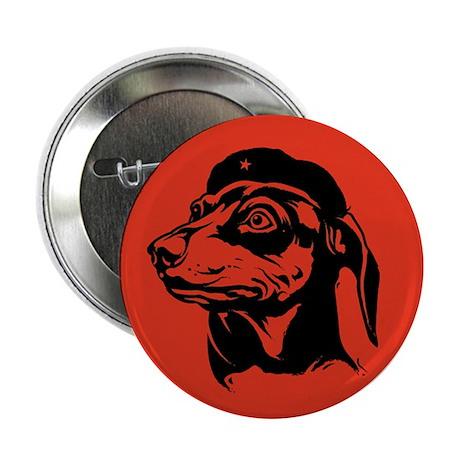 Dachshund Icon -Fundamentalist Button