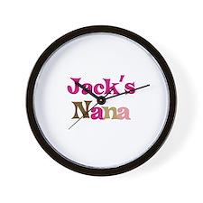 Jack's Nana Wall Clock