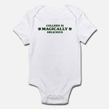 Colleen is delicious Infant Bodysuit