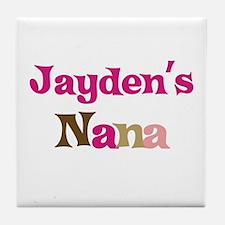 Jayden's Nana Tile Coaster