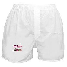 Mia's Nana Boxer Shorts
