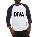 Diva (Front) Baseball Jersey