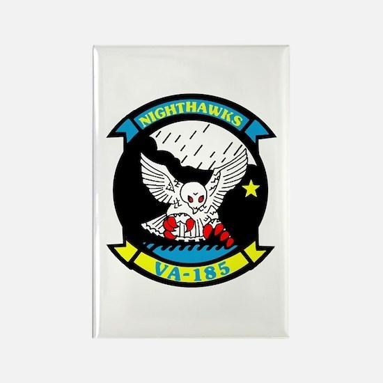 VA 185 Nighthawks Rectangle Magnet