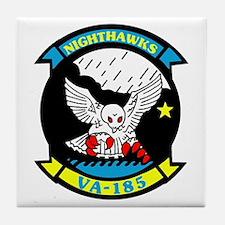VA 185 Nighthawks Tile Coaster