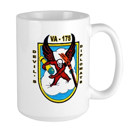 VA 175 Devil's Diplomats Large Mug