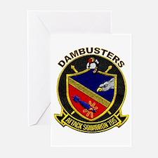 VA 195 Dambusters Greeting Cards (Pk of 10)
