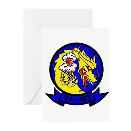 VA 192 Golden Dragons Greeting Cards (Pk of 10)