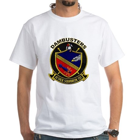 VA 195 Dambusters White T-Shirt