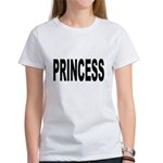 Princess (Front) Women's T-Shirt