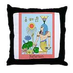 Nefertem Throw Pillow