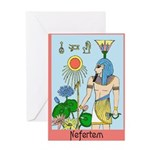 Nefertem Greeting Card