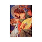 Mandolin / Ital Greyhound Rectangle Magnet (10 pac