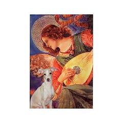 Mandolin / Ital Greyhound Rectangle Magnet