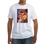 Mandolin / Ital Greyhound Fitted T-Shirt