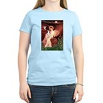 Seated Angel / Ital Greyhound Women's Light T-Shir