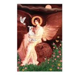 Seated Angel / Ital Greyhound Postcards (Package o