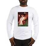 Seated Angel / Ital Greyhound Long Sleeve T-Shirt