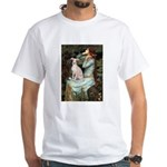 Ophelia / Italian Greyhound White T-Shirt