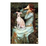 Ophelia / Italian Greyhound Postcards (Package of