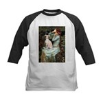 Ophelia / Italian Greyhound Kids Baseball Jersey
