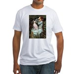 Ophelia / Italian Greyhound Fitted T-Shirt