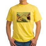 Creation / Ital Greyhound Yellow T-Shirt