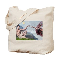 Creation / Ital Greyhound Tote Bag