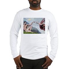 Creation / Ital Greyhound Long Sleeve T-Shirt