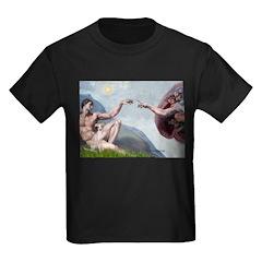 Creation / Ital Greyhound Kids Dark T-Shirt