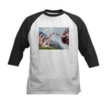 Creation / Ital Greyhound Kids Baseball Jersey