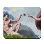 Creation / Ital Greyhound Mousepad