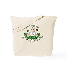 First St. Patrick's Boy Tote Bag
