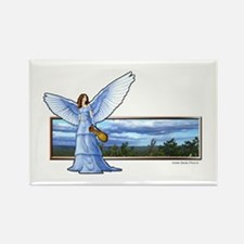 """Angel of Grace"" Rectangle Magnet"