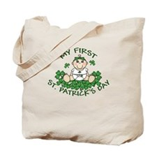 First St. Patrick's Girl Tote Bag