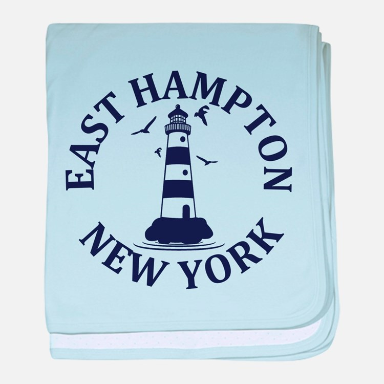 Summer East Hampton- New York baby blanket