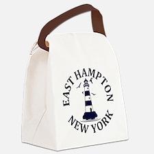 Summer East Hampton- New York Canvas Lunch Bag