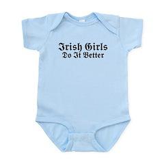 Irish Girls Do It Better Infant Bodysuit