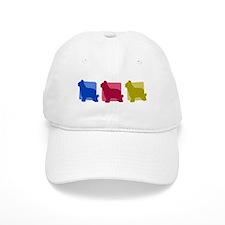 Color Row Briard Hat