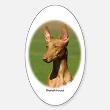 Pharaoh Hound Oval Decal